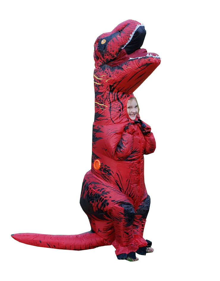 INFLATABLE T-REX COSTUME - UnspeakableGaming