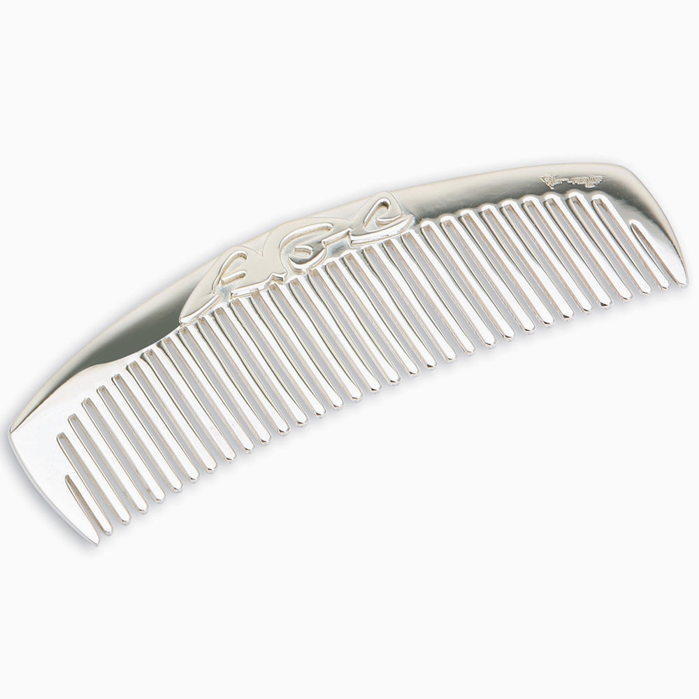 ABC Sterling Silver Baby Comb by Krysaliis