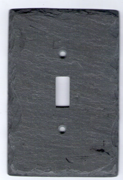 Vermont Gray Slate Switch Plates