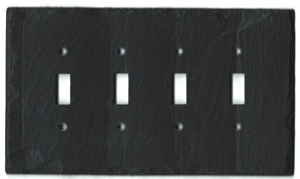Black Slate Switch Plate Wall Plate
