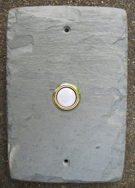Stone Door Bell Plate Cover