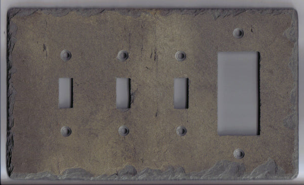 Triple Switch/GFI Plate Cover