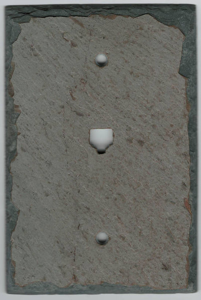 Antique Gray Slate Switch Plates