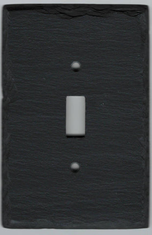 Black Slate Switchplate