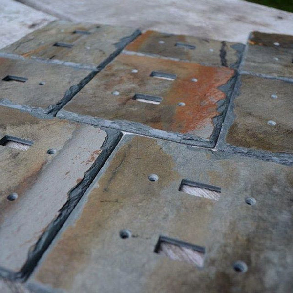 Vermont Slate Art reclaimed switch plates