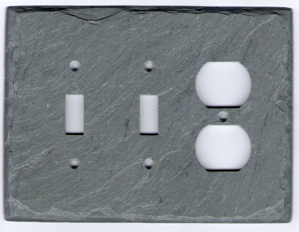 Double Switch/Outlet Cover