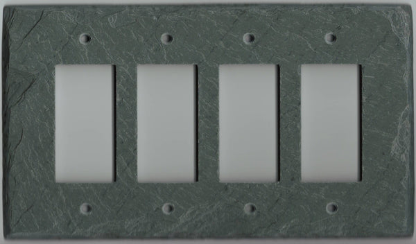 Quad Decora Wall Plate