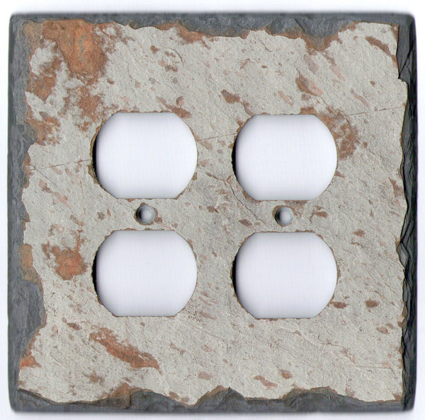slate outlet cover