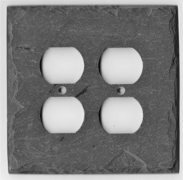 Vermont Gray Slate Switch Plates (Temporarily Out of Stock)
