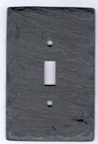 Gray Slate Switch Plate