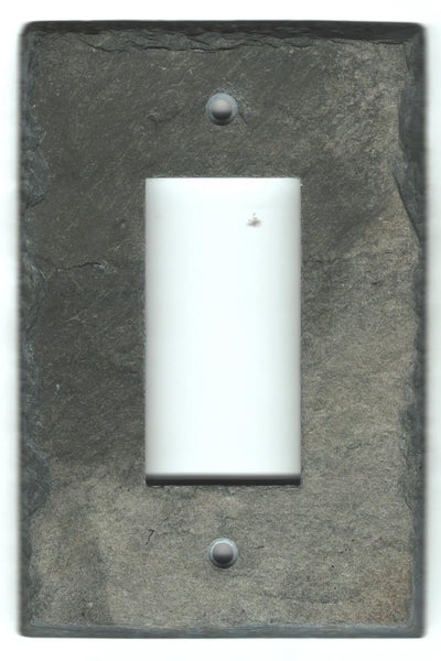 slate gfci light switch cover plate