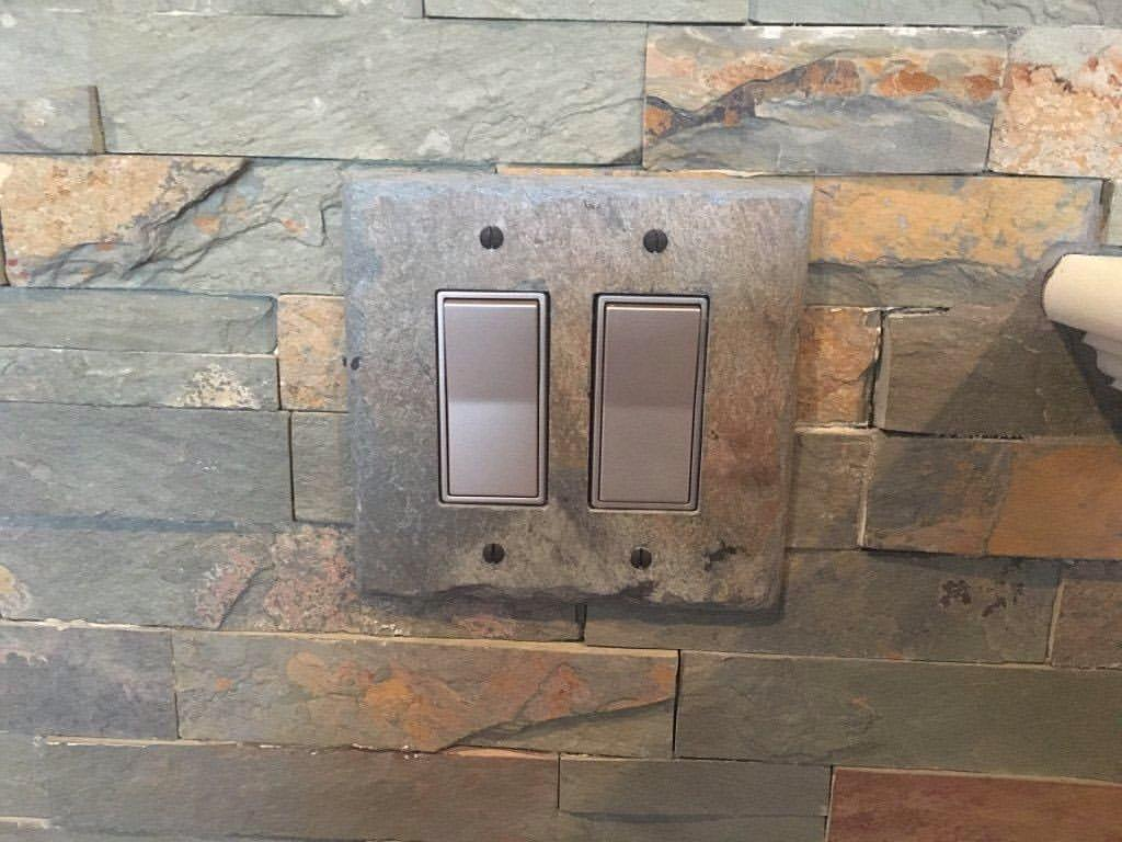 slate light switch covers