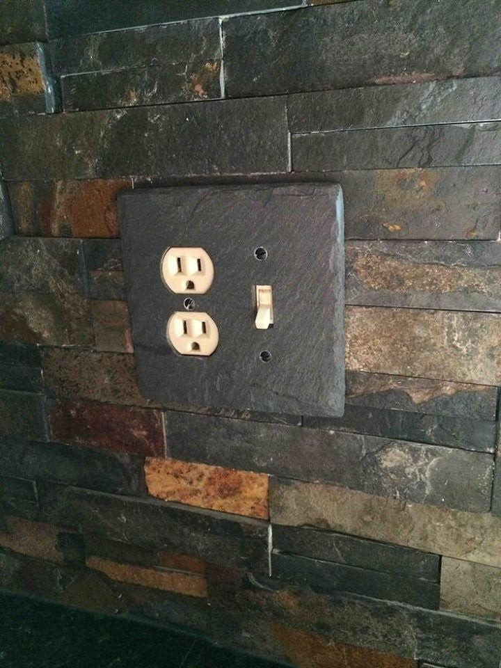 Vermont Slate Light Switch Plates Wall Plates And Outlet