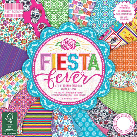 first edition fiesta fever paper pad