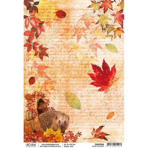 Ciao Bella Sweet October Rice Paper