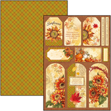 Ciao Bella Sound of Autumn Creative Pad A4 190gsm 01/2020