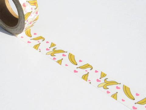 banana washi masking tape