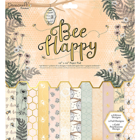 dovecraft bee happy paper pad