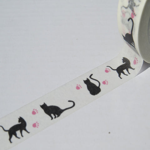 cats and kittens washi masking paper tape