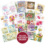 beautiful blooms paper pad