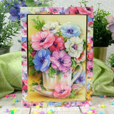 hunkdory crafts beautiful blooms pape pad