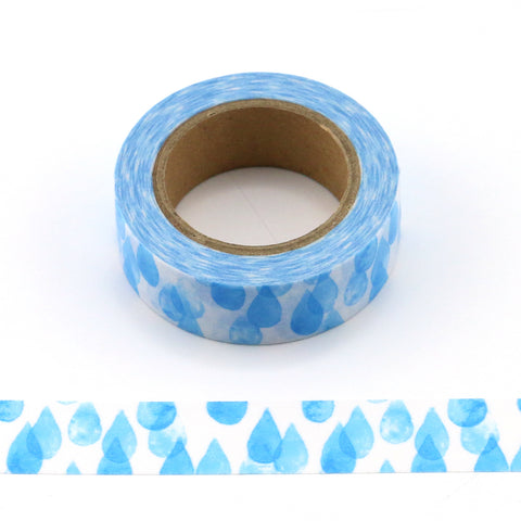 raindrops washi tape