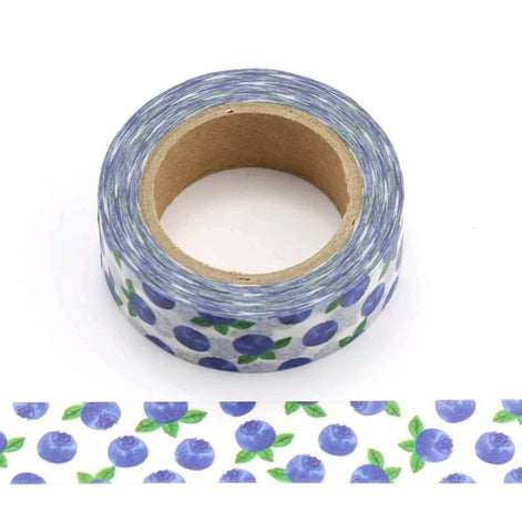 blueberry washi tape
