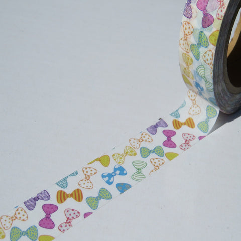colourful bows washi tape
