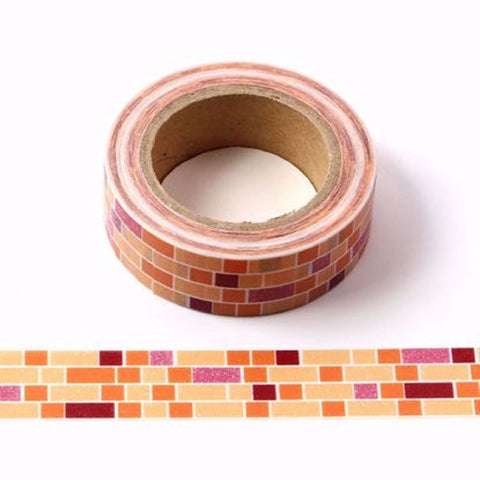 bricks masking paper tape