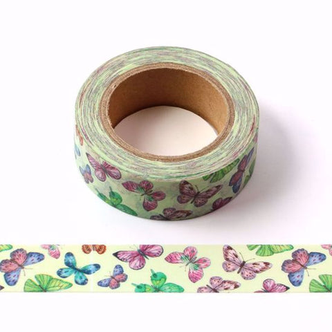 pretty butterflies washi tape