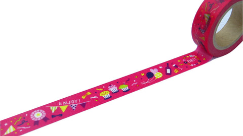 celebration party washi tape