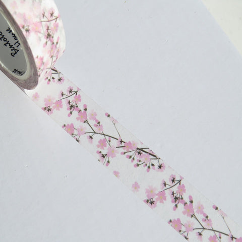 cherry blossoms floral washi masking tape