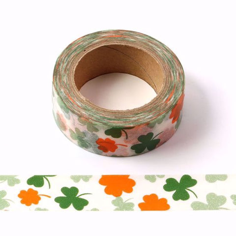 green clover washi tape