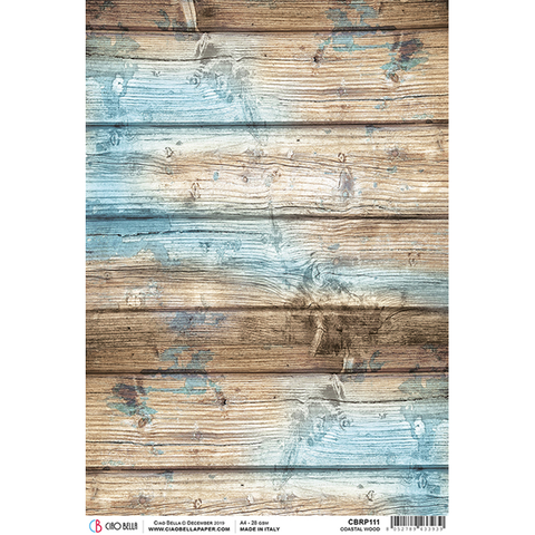 ciao bella rice paper coastal wood