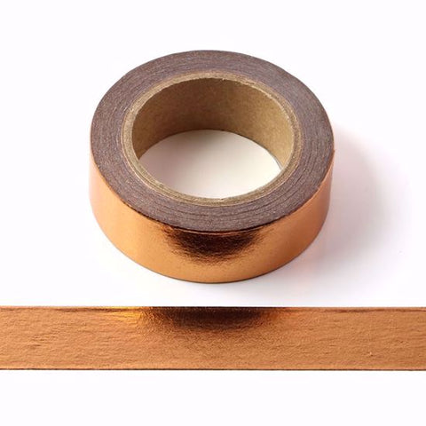 copper foil washi masking tape