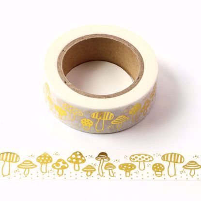 mushrooms washi tape