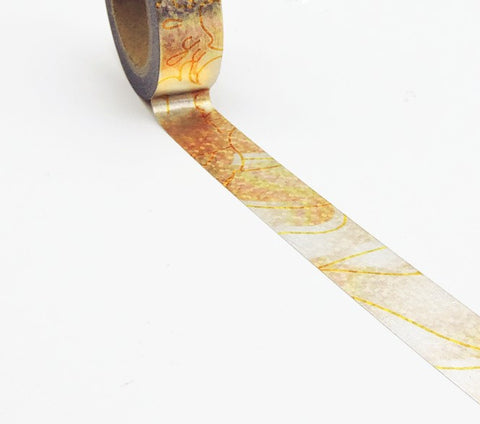 copper silver foil washi tape