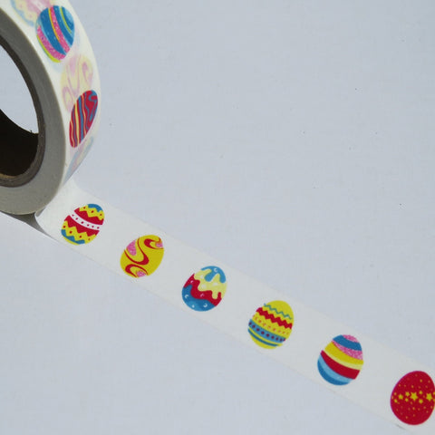 colorful eggs washi masking decorative tape