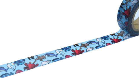kawaii fish washi tape