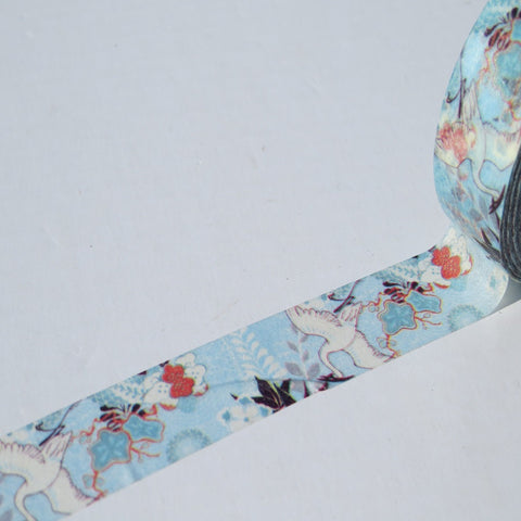 japanese style bird washi decorative tape