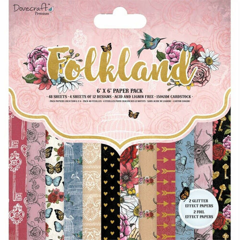 dovecraft folkland paper pad