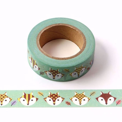 fox washi craft tape