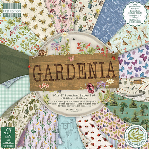 first edition gardenia paper pad