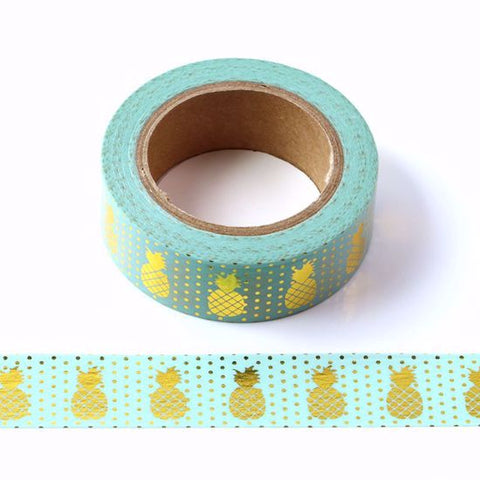 pineapples washi tape