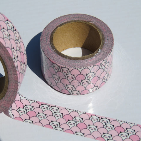 kawaii oriental animal washi decorative paper tape