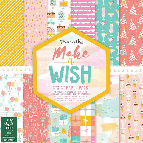 dovecraft make a wish paper pad