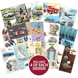 "Hunkydory Picture Perfect Pad 8""x 8"" - It's a Man's Life 150gsm"