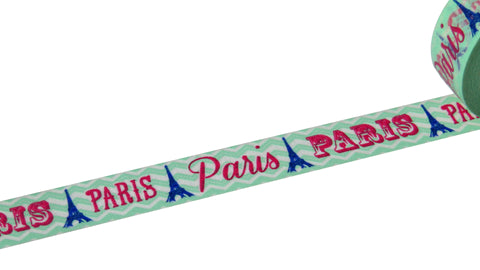 paris france washi paper tape