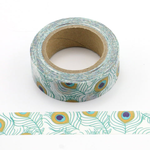 peacock feather washi tape