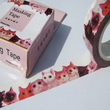 cats and kittens washi paper decorative tape